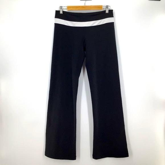 Lululemon Groove Reversible Black White Yoga Pants